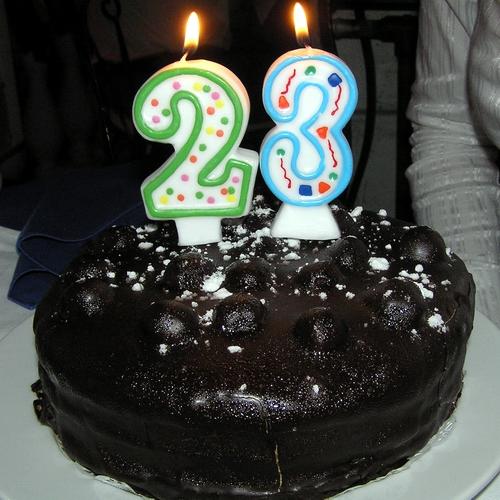 Поздравления с днем рождения на 23-летие
